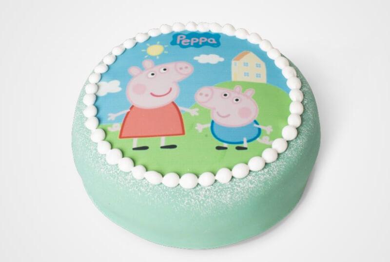 Cederleüfs & Svenheimers - Peppa Pig-tårta