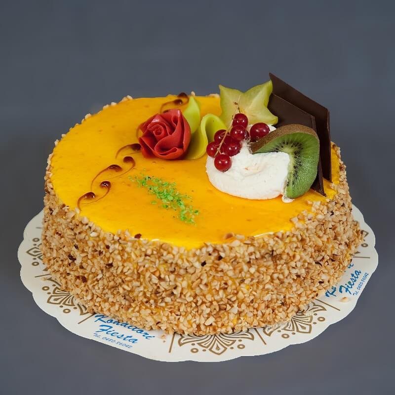 Konditori Fiesta - Appelsinmousse
