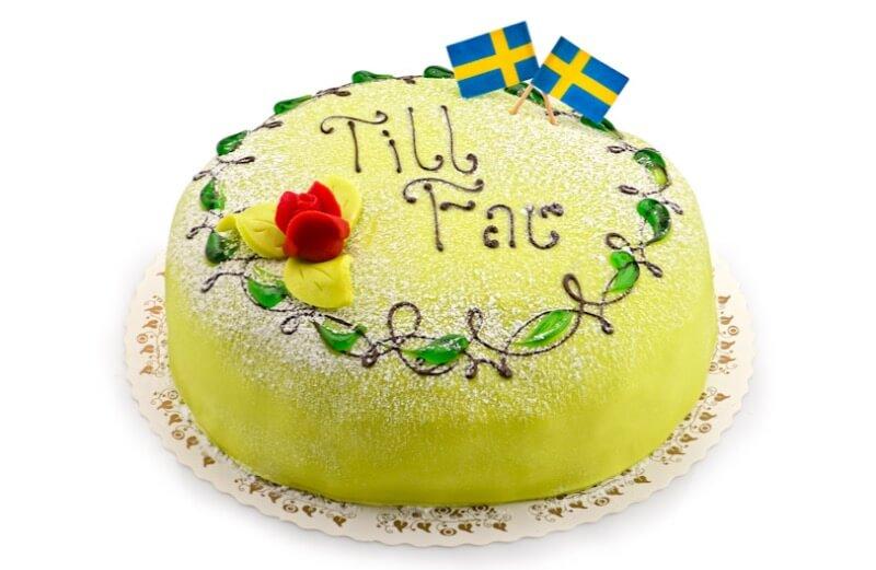Konditori Valhall - Fars dag-tårta