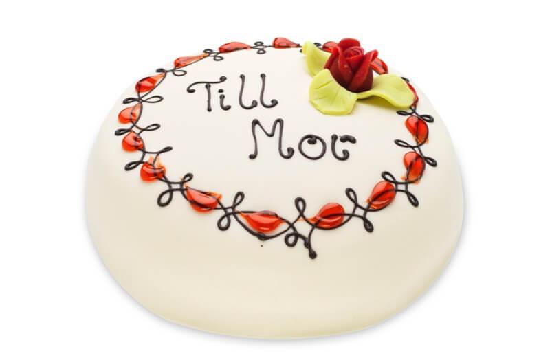 Konditori Valhall - Mors dag-tårta