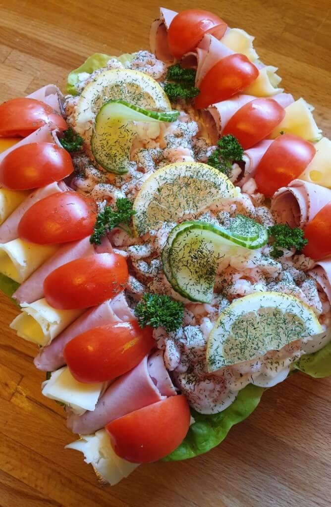 Ekbergs konditori - Smörgåstårta