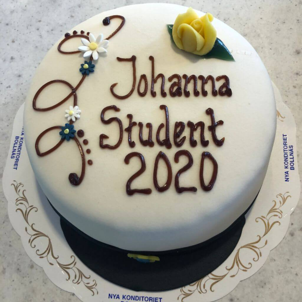 Nya Konditoriet i Bollnäs - Studenttårta