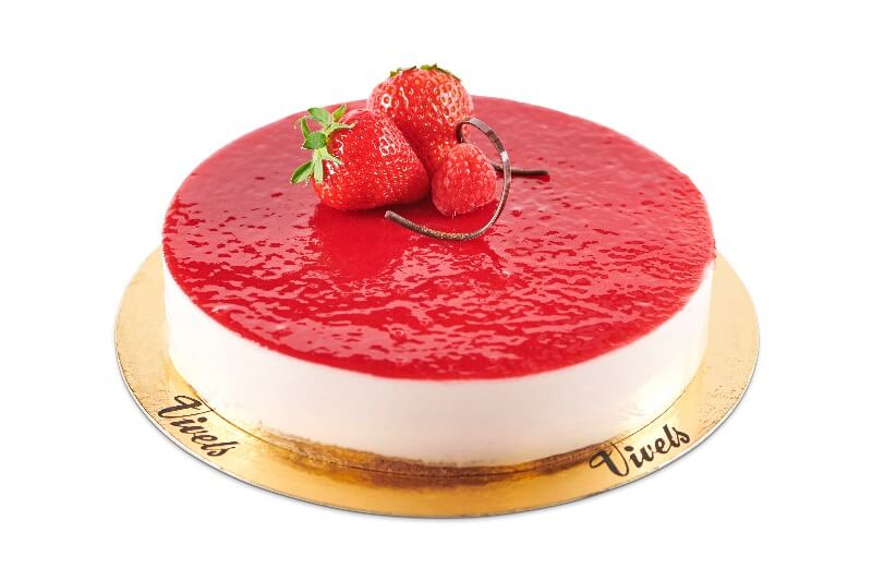 Vivels - Hallon cheesecake