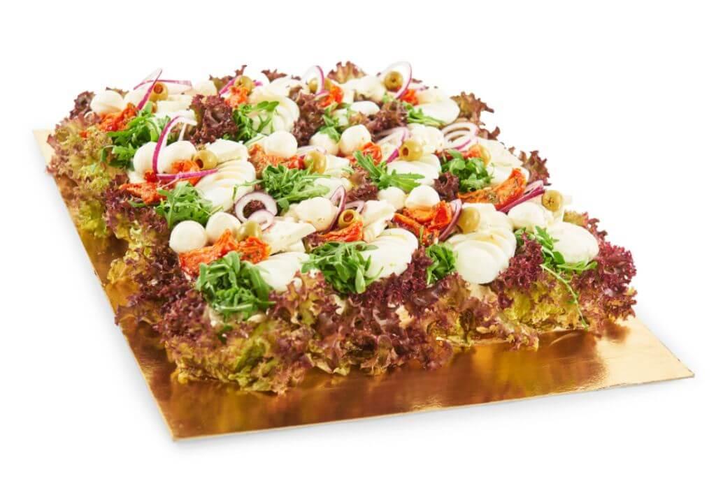 Vivels - Vegetarisk smörgåstårta