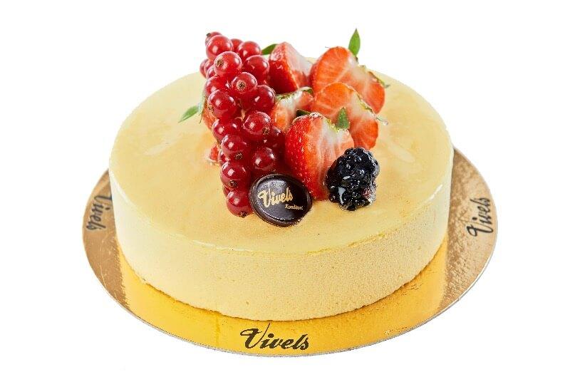 Vivels - Mangomousse tårta