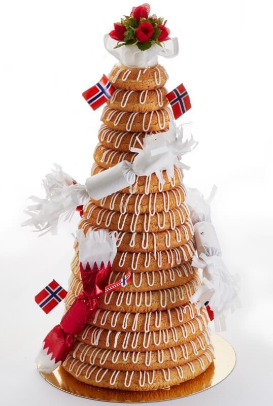 Baker Kristiansen - Kransekake
