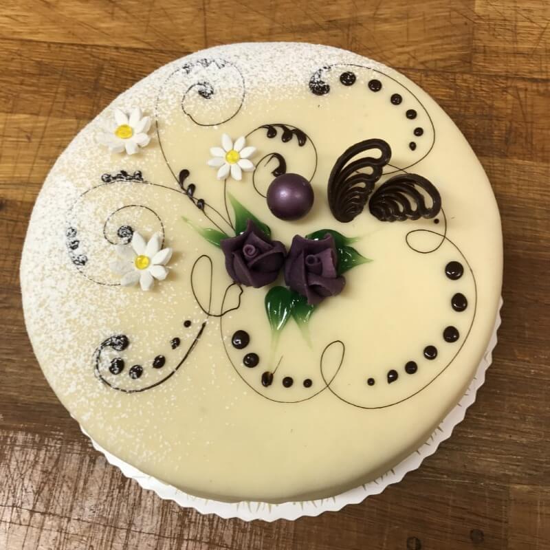 Baker Kristiansen - Glutenfri marsipankake