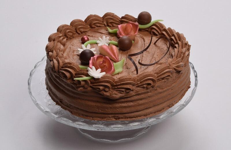 Baker Kristiansen - Sjokoladekake