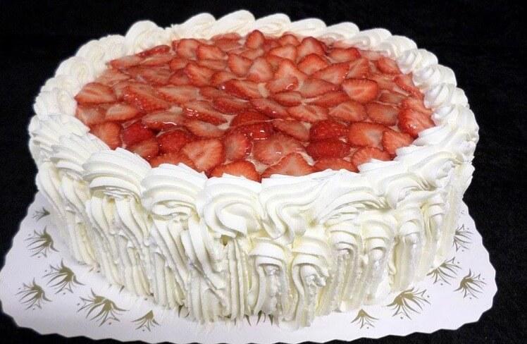 Christensen bakeri - Bløtkake med bær og geletopp