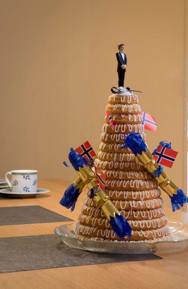 Hamstad bakeri - Kransekake