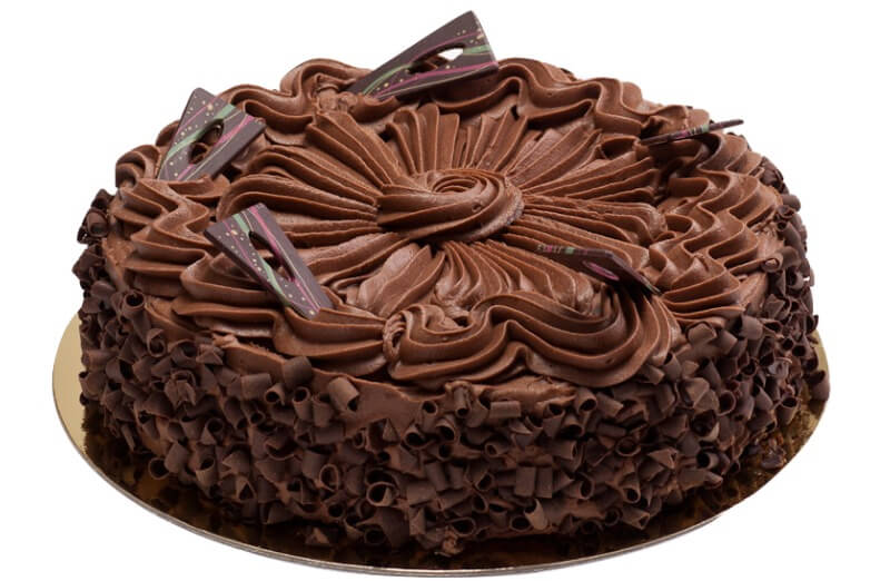 Hamstad bakeri - Lys sjokoladekake