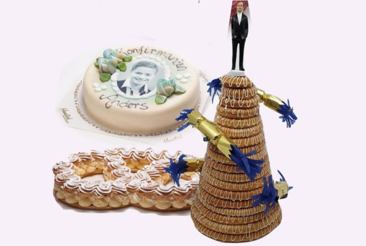 Hamstad bakeri - Kakepakke stor