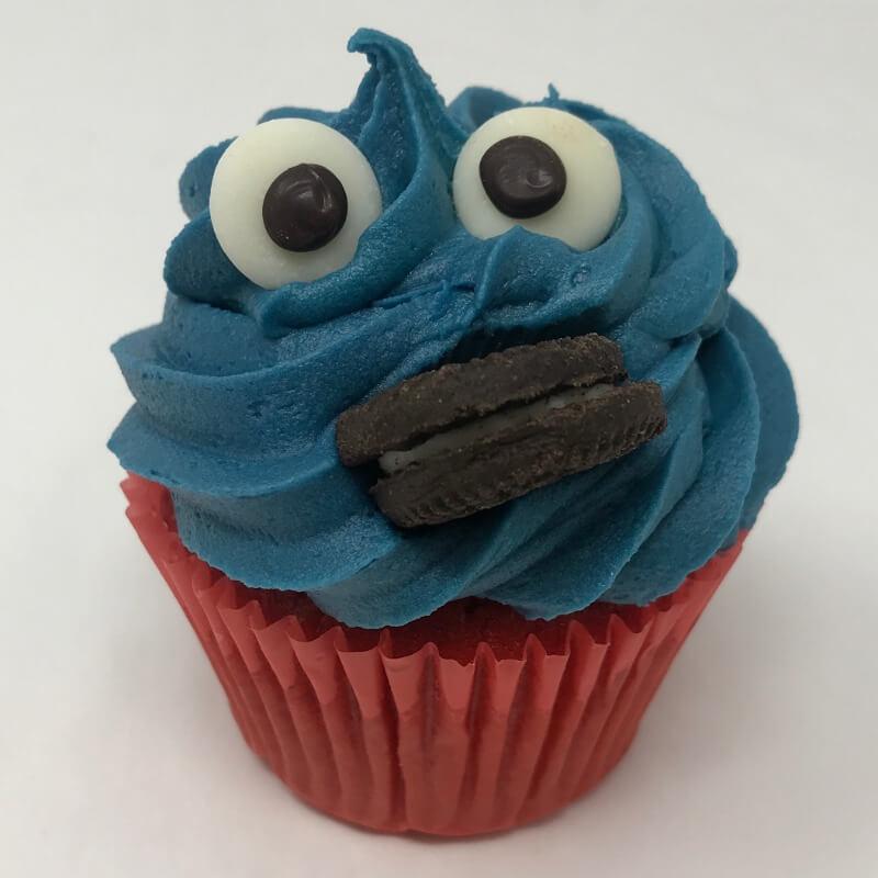 Aanerud bakeri - Kakemonster-cupcakes