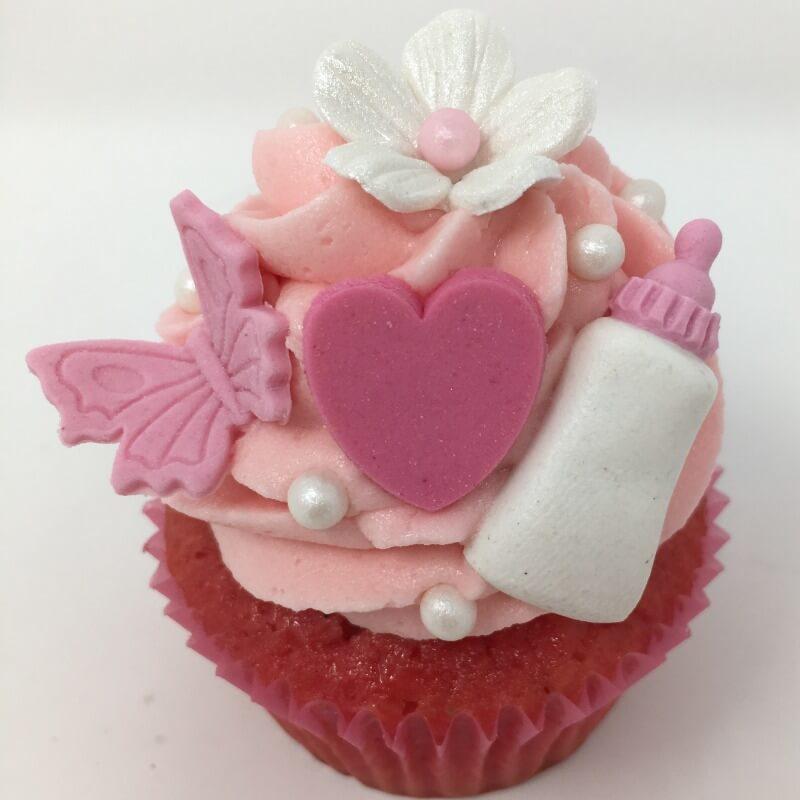 Aanerud bakeri - Babyshower cupcakes