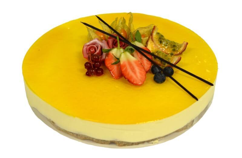 Baker Nilsen - Ostekake med pasjonsfrukt
