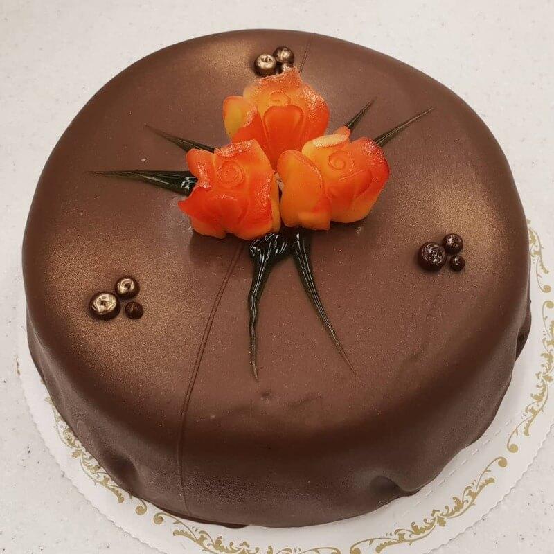 Baker Nilsen - Sjokoladekake med trekk