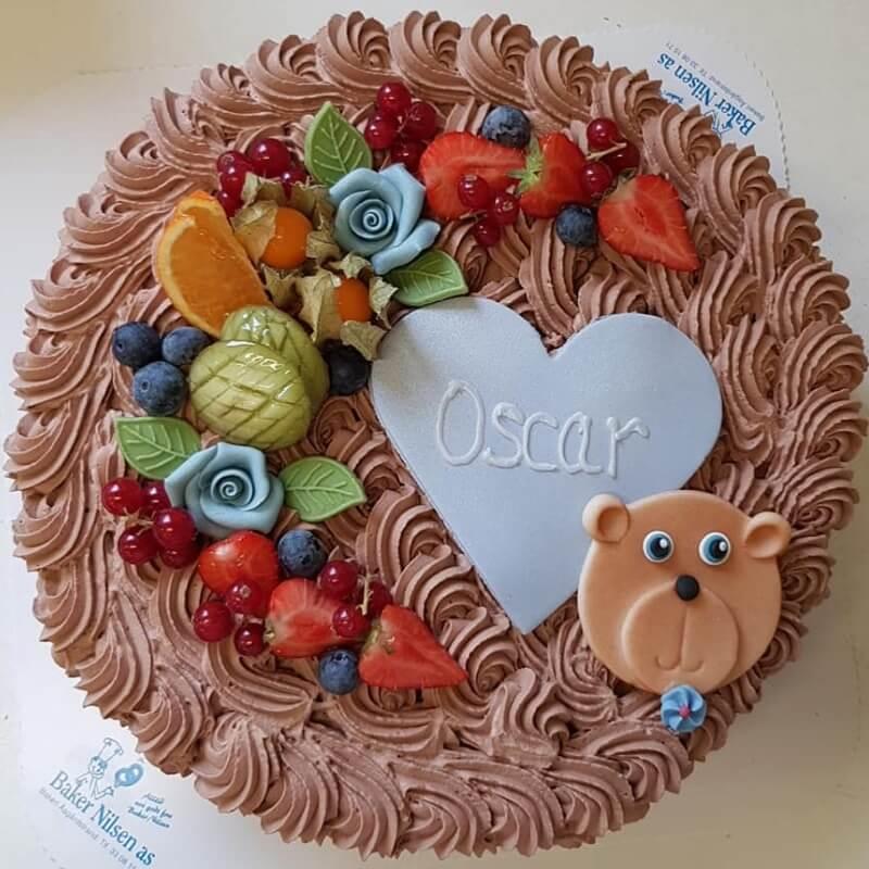 Baker Nilsen - Sjokoladekake med krem
