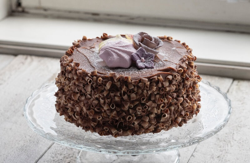 Dampbageriet - Sjokoladekake