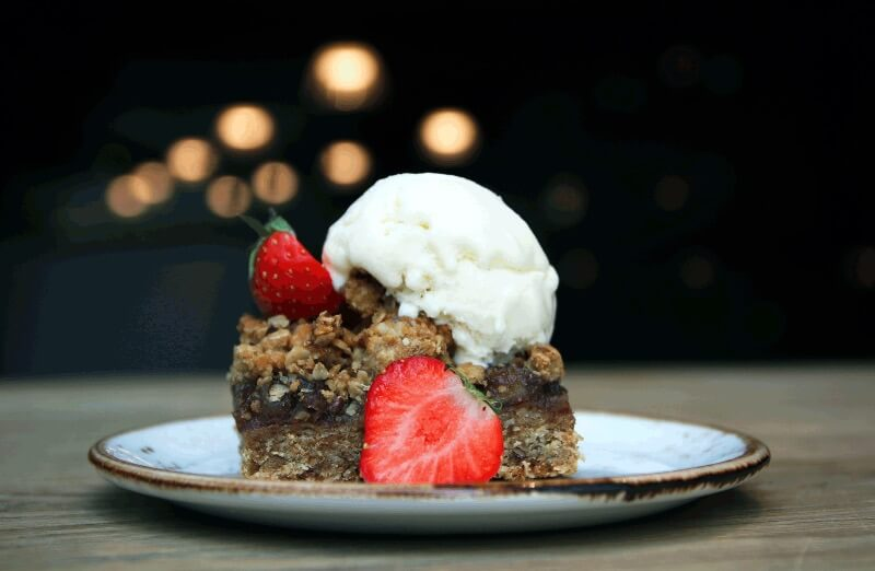 Funky Fresh Foods - Crumble Date Cake