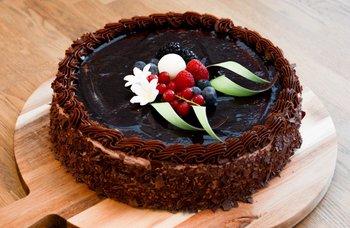 Geheb conditori - Sjokoladekake