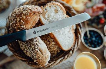Rosenborg bakeri - TILBUD! Brødkniv + 2 valgfrie brød