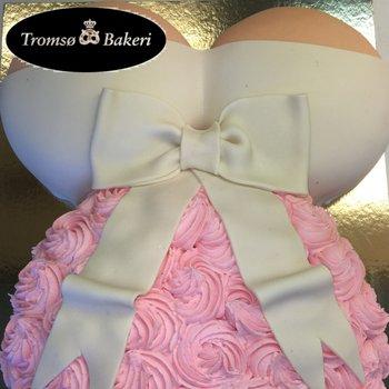 Tromsø Bakeri - Babyshower kake