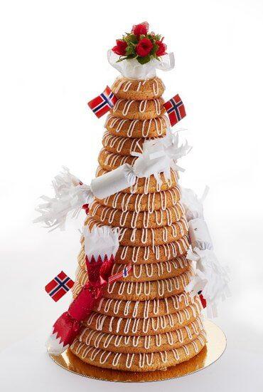 Baker Brun & Solbrød - Kransekake