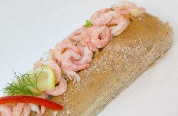 Aanerud bakeri - Baguetter påsmurt