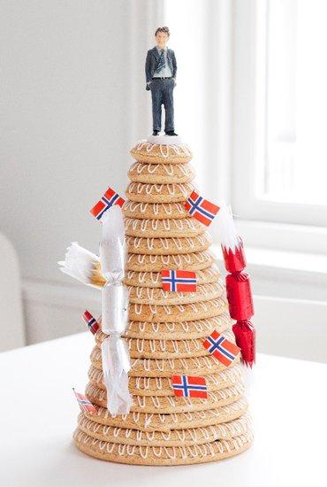 Rosenborg bakeri - Kransekake