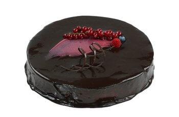 Hjemmebakeriet - Sjokolade & bringebærmousse