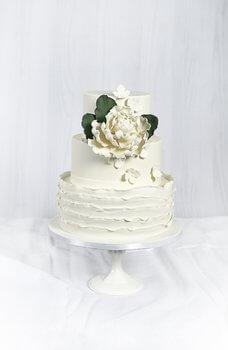 Cakes by Hancock - Ella Bryllupskake