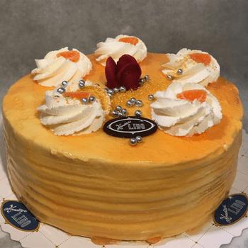 Konditori Lido - Apelsintårta