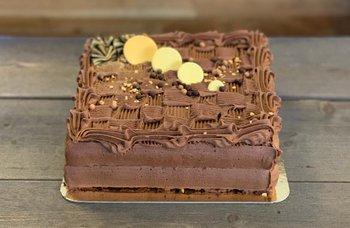 Byåsen Bakeri - Sjokoladekake