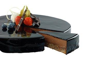 Råde Bakeri - Sjokolademoussekake