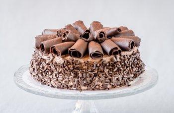 Börje Olsson Konditori - Fransk Chokladtårta