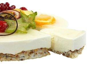 Hjemmebakeriet - Ostekake med nøttebunn