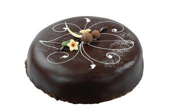 Hjemmebakeriet - Sjokoladekake med marsipan