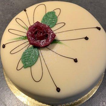 Nobel Conditori - Gluten- og laktosefri marsipankake